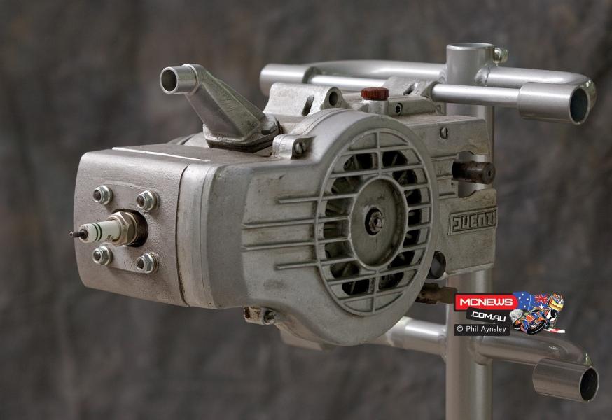 Ducati morini m101 kickstart fan cooled engine
