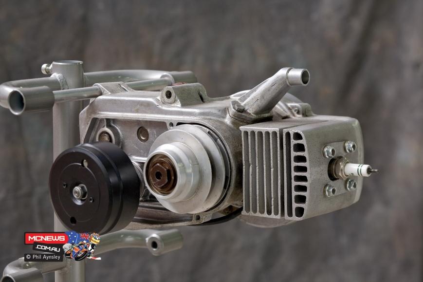 morini m101 ducati kickstart fan cooled engine